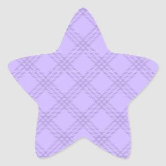 Four Bands Small Diamond - Violet1 Star Sticker