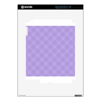 Four Bands Small Diamond - Violet2 Skin For The iPad 2