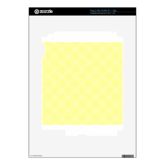 Four Bands Small Diamond - Yellow2 Skin For iPad 2