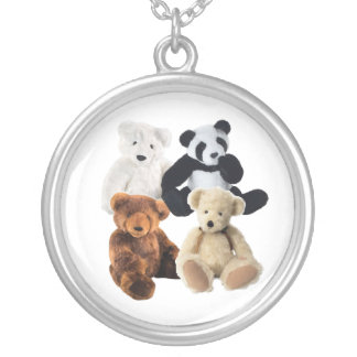 Four bears Necklace