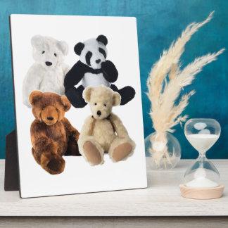 Four bears Plaque
