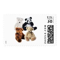 Four bears postage