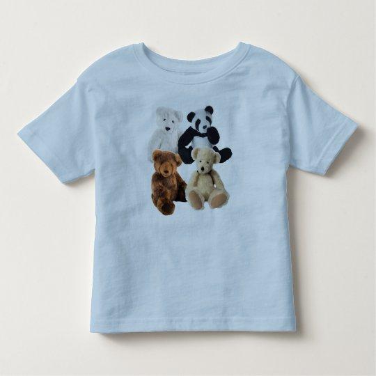 Four bears toddler t-shirt