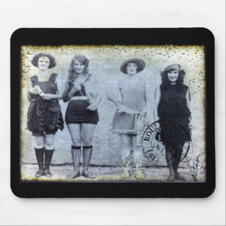 Four Beauty Contest Winners Mouse Pad