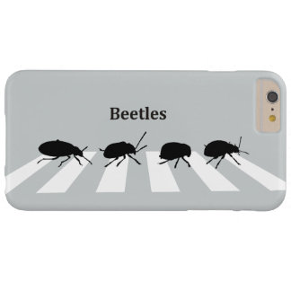 Four beetles walking across a crosswalk in London… Barely There iPhone 6 Plus Case