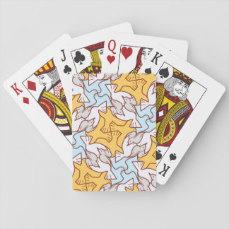 Four Birds Pattern Playing Cards