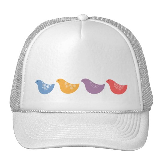 Four Birds Trucker Hat