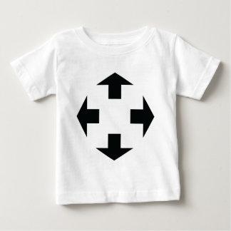 four black arrows icon t shirt