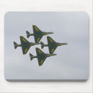 Four Blue Angel A-4s In Diamond Mousepads
