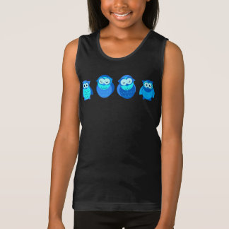 Four Blue Owls Kid's Clothing Tank Top