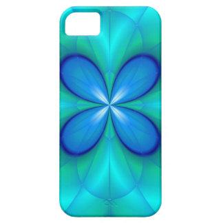 Four Blue Petals iPhone SE/5/5s Case