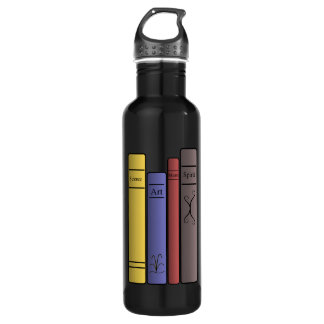 Four Books 24oz Water Bottle