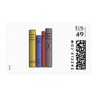 Four Books Postage