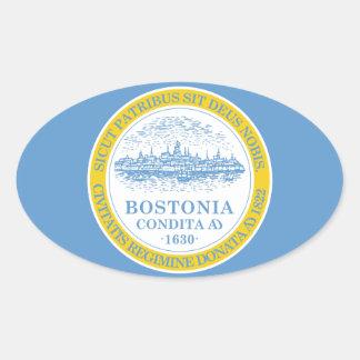 FOUR Boston Flag Sticker