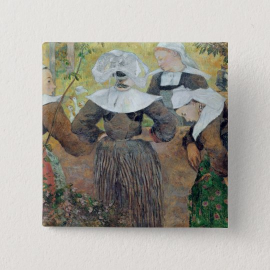 Four Breton Women, 1886 Button