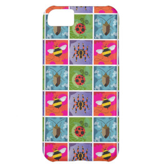 Four Bugs Pattern Cover For iPhone 5C
