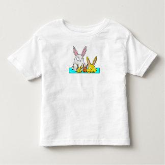 Four Bunnies Cartoon T Shirt