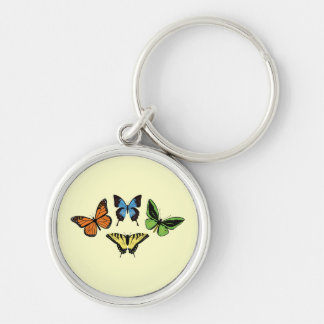 Four Butterflies - Keychain