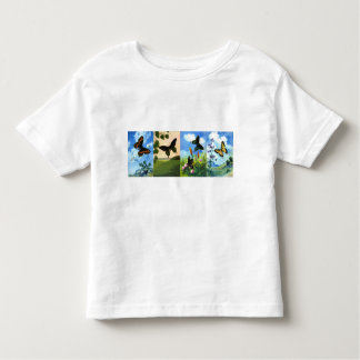 Four Butterflies Toddler T-shirt
