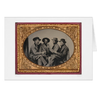 Four California miners  (40030) Card