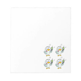 Four Calling Birds Notepad