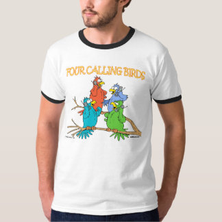 Four Calling Birds T-Shirt