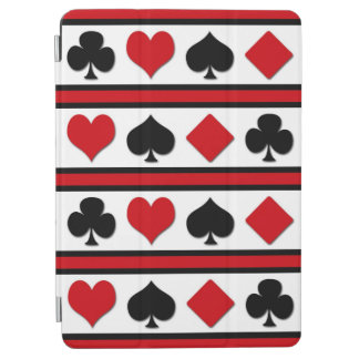 Four card suits iPad air cover