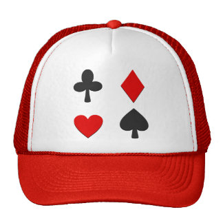 Four Card Suits Trucker Hat