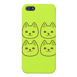 Four CATS Cover For iPhone SE/5/5s