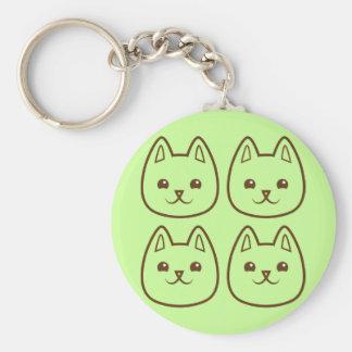Four CATS Keychain