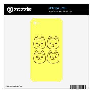 Four CATS Skins For The iPhone 4