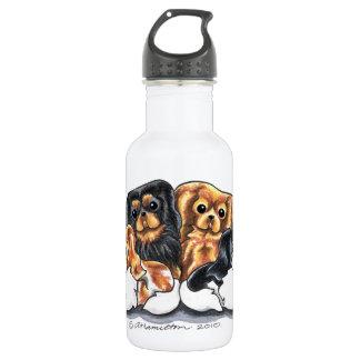 Four Cavalier King Charles Spaniels 18oz Water Bottle