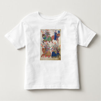 Four cavaliers, from the toddler t-shirt
