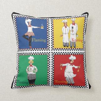 Four Chefs pillow