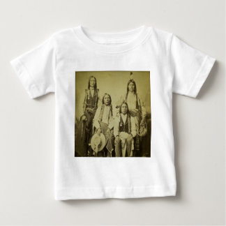 Four Cheyenne Scouts Vintage Stereoview Baby T-Shirt