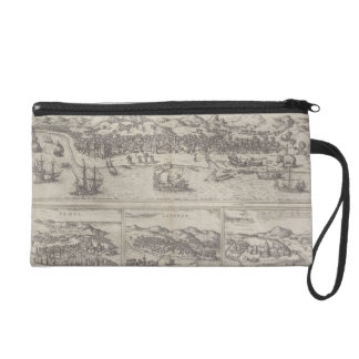 Four Cities in India Wristlet