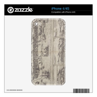 Four Cities in India Skin For iPhone 4
