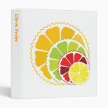 Four citrus fruits binder