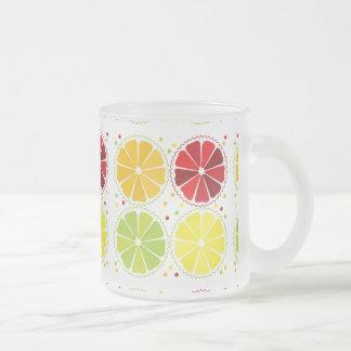 Four citrus fruits mug