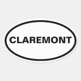 FOUR Claremont Sticker