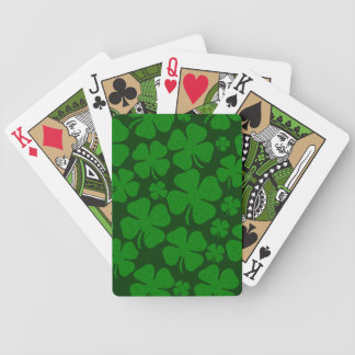 Four Clover Leaves Bicycle Playing Cards