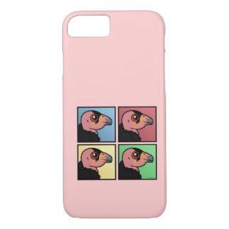 Four Color California Condor iPhone 7 Case