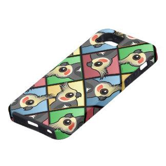 Four Color Cockatiel iPhone SE/5/5s Case