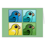Four Color Linnies Greeting Card