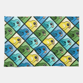 Four Color Linnies Kitchen Towels