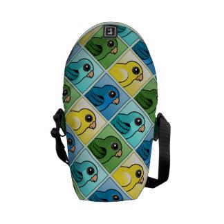Four Color Linnies Messenger Bag