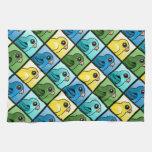 Four Color Linnies Towels