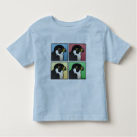 Four Color Peregrine Falcon Toddler Fine Jersey T-Shirt