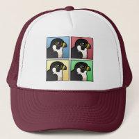 Four Color Peregrine Falcon Trucker Hat