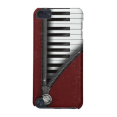 Four Color Piano Keyboard Ipod Touch 5 Case at Zazzle